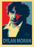 Dylan Moran Obama-Style Poster by Billtop