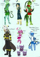 Pokemon MD EoD Gijinkas by ShadowDemon101