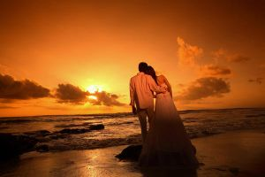 .:Prewedding on sunset:. by indratj