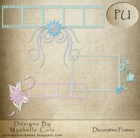 Decorative Frames - Scrapbook by shelldevil