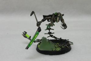 Executioner Ktalon - Necron Destroyer Lord_front by Kurocyn
