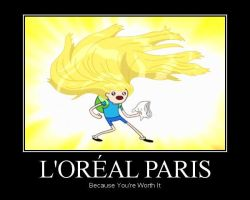 l'Oreal Paris - Adventure Time - Finn by AtilioA