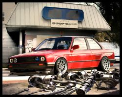 bmw e30 by crazyrichard