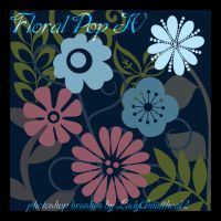 Floral Pop IV Brushes by IndigoWild