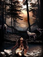 Woman of Wolves by ChrisDesign47