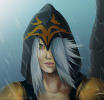 Ashe League of Legends by Friday70