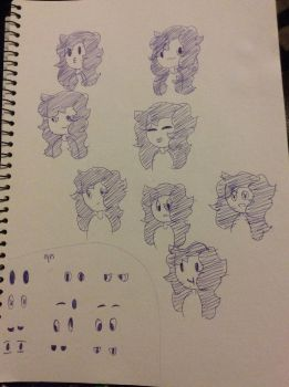 Gidget expressions by Charli-the-potato