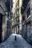 Streets of Barcelona by Logan-chem