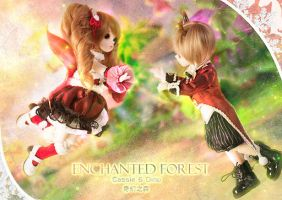 ENCHANTED FOREST by Angell-studio
