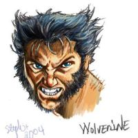 wolverine by lady-cybercat