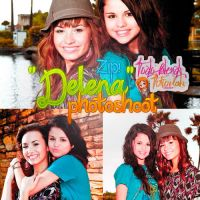 Selena y Demi Photoshoot [zip pedido] by TodoBlends