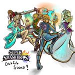 Smashbros Outfit Swap Series (open 4 requests) by Mimibert