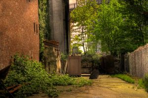 Alley by hlaurah