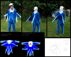 Commission: Latios Cosplay by kleinespika