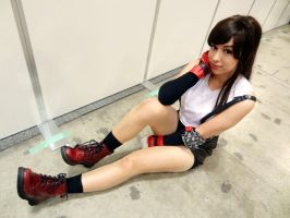 Tifa Lockheart - Well Hello There by frankiki