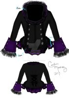 Alexandria Corset Jacket 'Purple' by sapphirestarflake