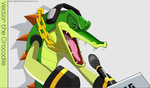 Crocodile Rock! by VagabondWolves