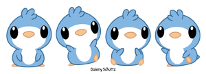 Blue Penguin by Daieny