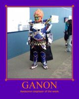 Awesome Cosplayer: Ganon by MasterRBG