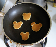 Mickey Mouse Pancakes by Princesses-of-Heart