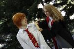 Hermione Granger and Ron Weasley. by ElTanitoGrimes