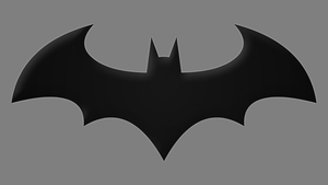Arkham Batman Symbol by Yurtigo