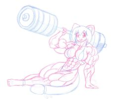 commicion kali69 - lifting weights 2 by Siegfried129