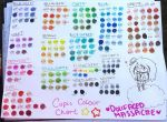Dollfaced Copic Colour Chart by DollFacedMassacre