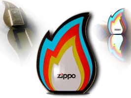Zippo lighter premium box by Salvenius