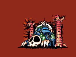 Wily Castle 2 Gameboy by abonny