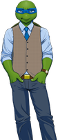 Professor Leo for TMNT U by Pimpypants