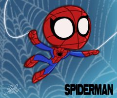 Chibi SPIDERMAN by princekido