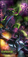 Green Goblin smudge by Tortuegfx