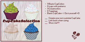 CupcakeSelection by Ale-Panda