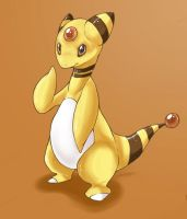 +Ampharos+ by Sprinkling-stars