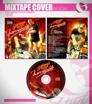 Mixtape Cover Design by Gunzkingzart