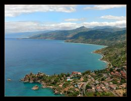 View From From The Rock Over Cefalu by skarzynscy