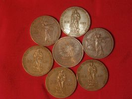 Commemorative coins - Victory by Mihenator