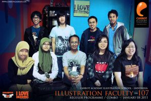 Illustration Faculty R gen 107 by carrotacademy