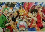 One Piece crew finished by crowshot27
