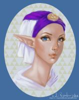 Princess Zelda by beastsofbabylon