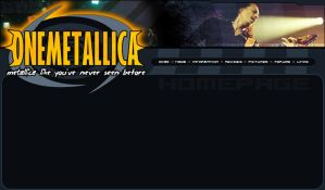 -another- Onemetallica website by weaponzero