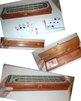 Cribbage Board Done by kayanah