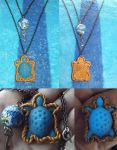 Guardian of the Beam: Maturin Turtle Necklace by ShadyDarkGirl