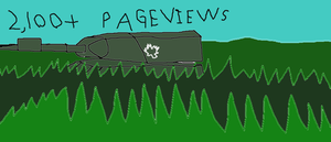 2,100+ Pageviews by Monty005