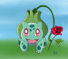 PAX East 2014 Exclusive: Bulbasaur's Gift by YoshiGamerGirl