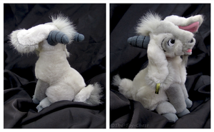 Disney Store - Sitting Djali Goat Plush by The-Toy-Chest