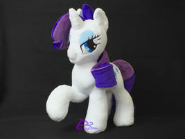 Rarity P2RHV1 Glow-in-the-Dark by kiashone
