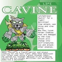 Skylander Concept Art: Cavine Life Element by RPGraphicDesign