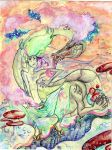 Cotton candy by LimehouseBlues